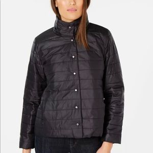 Eileen Fisher Packable Down Quilted Puffer Jacket